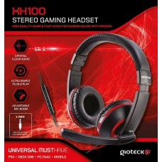 Gioteck XH100 Wired Stereo Headset (PS4/Xbox One/PC DVD)