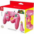 HORI Battle Pad Gamecube Style Controller - Princess Peach Edition for Nintendo Switch