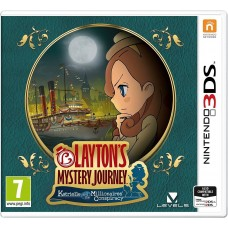 Layton's Mystery Journey: Katrielle and the Millionaires Conspiracy (Nintendo 3DS)