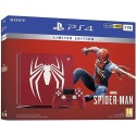 Sony PlayStation 4 Limited Edition Marvel Spiderman 1TB Console (Red)