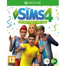 The Sims 4 Deluxe Party Edition (XBox One)