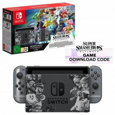 Nintendo Switch Grey Super Smash Bros Ultimate Edition Console + Super Smash Bros. Download Code