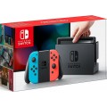 Nintendo Switch - Neon Red/Neon Blue Console with Splatoon 2