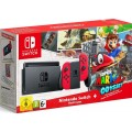 Nintendo Switch Console - Red Joy Con Edition and Super Mario Odyssey