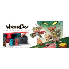 Nintendo Switch Console with Wonder Boy The Dragon's Trap