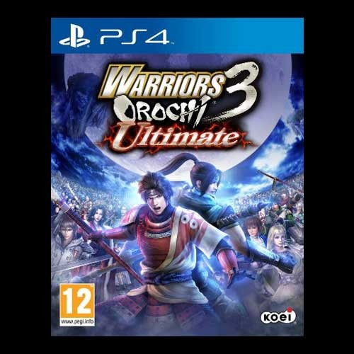 Warriors Orochi 3 Ultimate Girls: Warriors Orochi 3 Ultimate (PS4