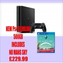 PS4 500GB SLIM Console with No Man's Sky